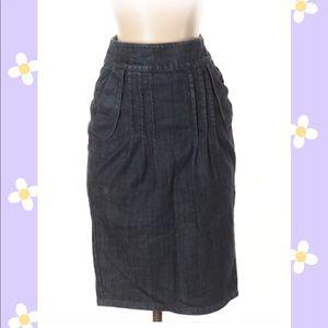 Level 99 Denim Skirt